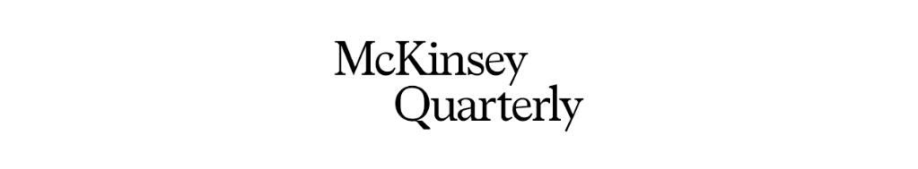 Leadership Blog - McKinsey Quarterly | Business Blogs to Follow