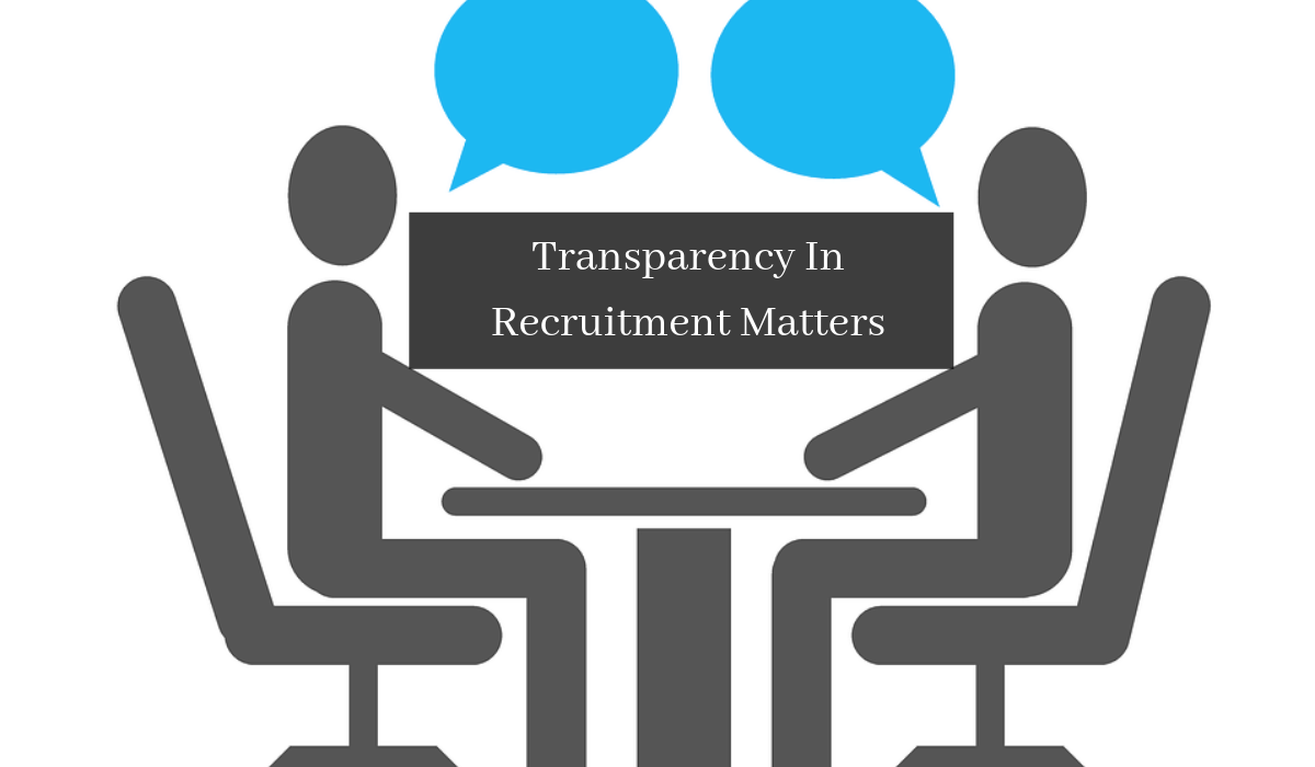 Transparency in recruitment matters a lot. It is not a short term game: Growth hack for modern marketing agencies