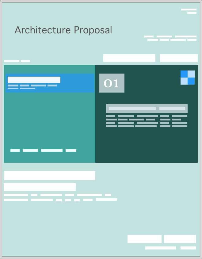 Architecture Services Proposal Templates