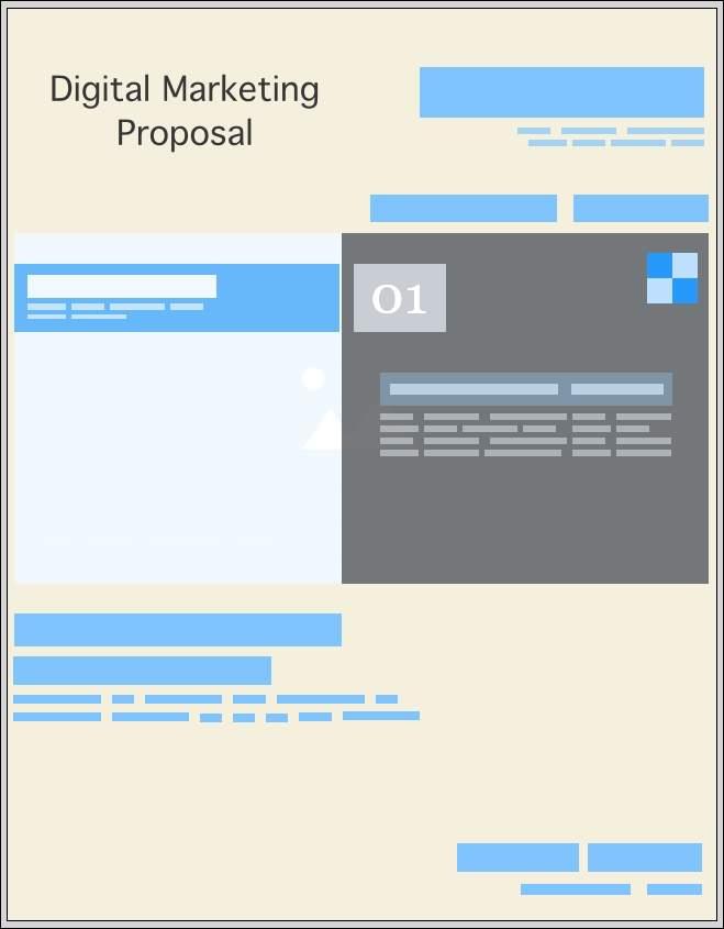 Digital Marketing Proposal Template - Fresh Proposals