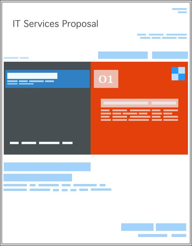 IT Software Services Proposal Templates