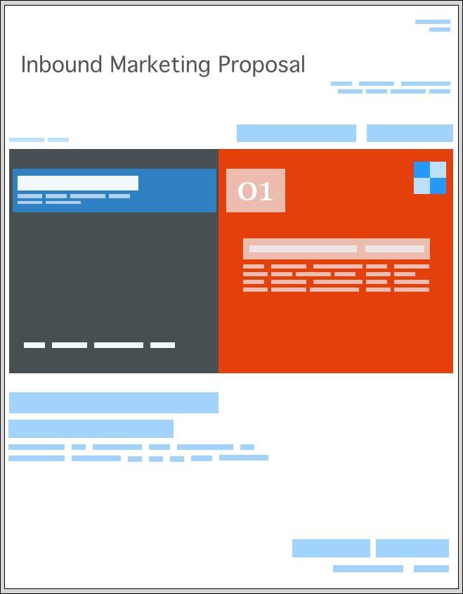 Inbound Marketing Proposal Templates