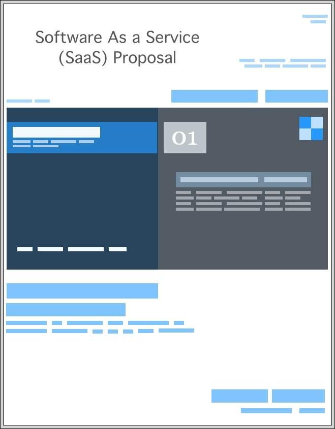 SaaS Proposal Templates